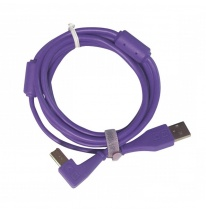 DJ TechTools Chroma USB 2.0 Cable 1.5m (Angled Purple)