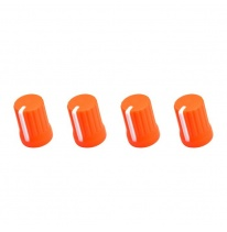 DJ Techtools 90° Knob Set (Neon Orange)