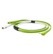 Oyaide NEO d+ MYR Class B Dual RCA - 3.5mm TRS (angled) Cable 2.5m
