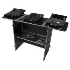 UDG Ultimate Fold Out DJ Table Silver MK2 Plus (Wheels) (U92049SL2)