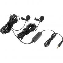 Saramonic LavMic 2m Dual Wired Lavalier Microphone