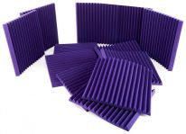"Auralex Acoustics 2"" Studiofoam Wedges (Purple) (12 pcs.)"