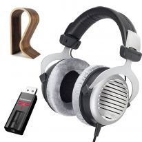 Beyerdynamic DT 990 Edition (250 Ω) + Audioquest Dragonfly (Black) + Glorious Stand Bundle