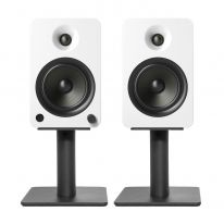 "Kanto 6"" Desktop Speaker Stands (Black, Pair)"