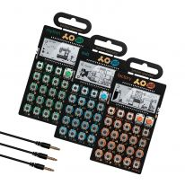 Teenage Engineering PO-12 + PO-14 + PO-16 + MC-3 Mini Sync Cables Bundle