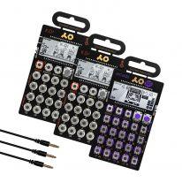 Teenage Engineering PO-33 + PO-20 + PO-12  + MC-3 Bundle