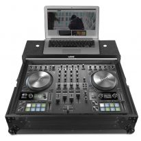 UDG Ultimate Flight Case NI Traktor Kontrol S4 MK3 Black Plus (Laptop Shelf) (U91064BL)