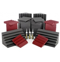 Auralex Acoustics Roominators Alpha-DST (Burgundy)